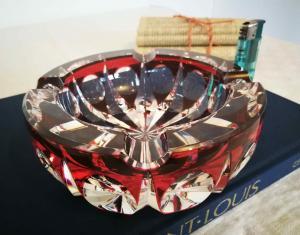 Ambassadeur cendrier cristal de saint louis