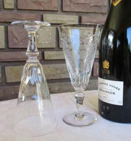 Baccarat cristal taille grave