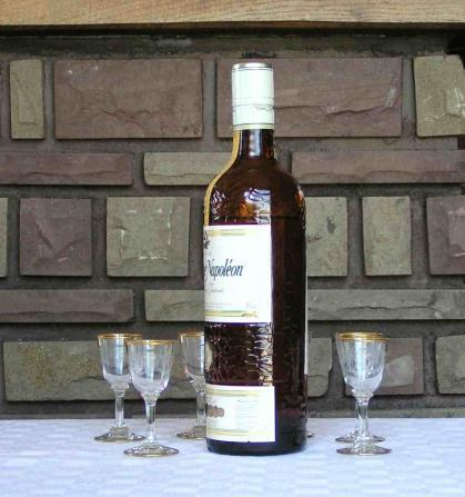 Baccarat cristal verre liqueur beauharnais