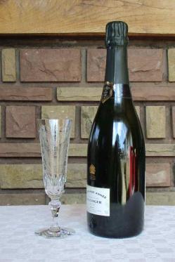 Baccarat flute cristal