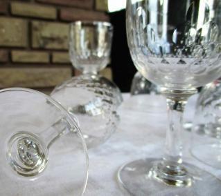 Baccarat non estampille verre