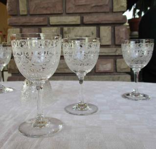 Baccarat verre ancien rohan