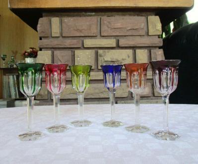 Baccarat verre malmaison couleurs