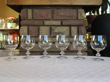 Beaune service verres cristal