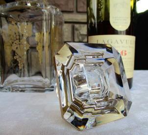 Bouchon carafe cristal baccarat