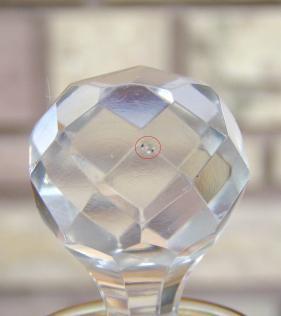 Bouchon taille cristal st louis