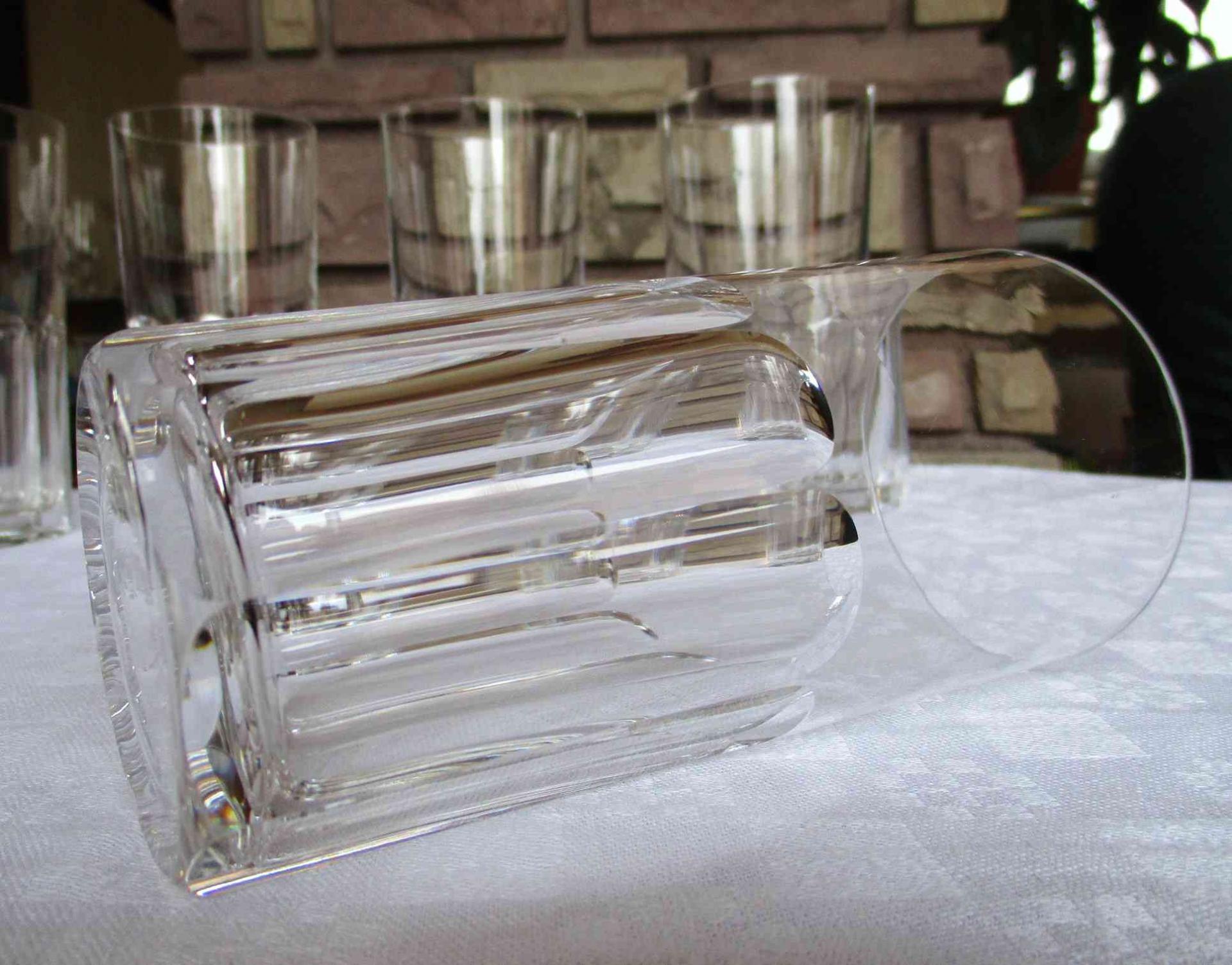 verre en cristal saint louis service bristol. Black Bedroom Furniture Sets. Home Design Ideas