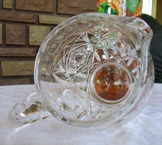 Broc cristal ancien baccarat