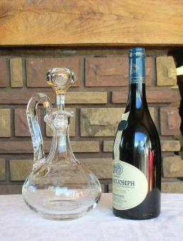 Broc decanter cleo saint louis