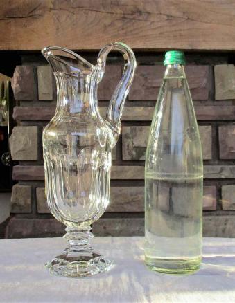 Broc eau chambord saint louis cristal