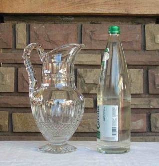Broc eau tommy st louis cristal