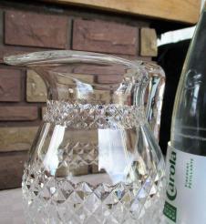 Broc pichet occasion cristal