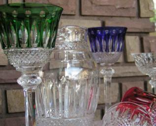 Broc verre tommy couleur cristal
