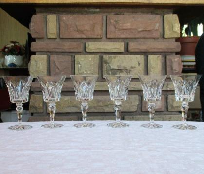 Camargue verre bordeaux st louis