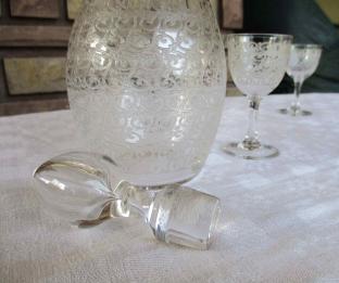 Carafe baccarat ancienne cristal