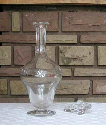 carafe eau cristal st louis