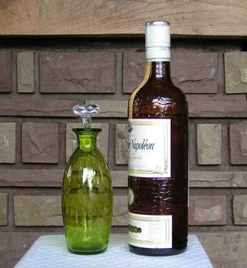 Carafe liqueur st louis couleur cristal