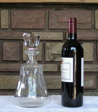Carafe vin caracas baccarat