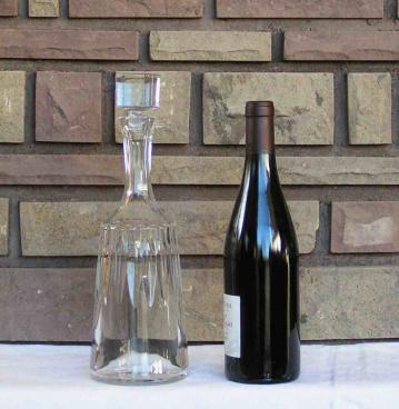 Carafe vin d assas baccarat