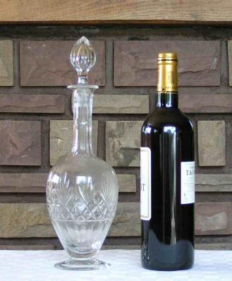 Carafe vin decanter massenet saint louis