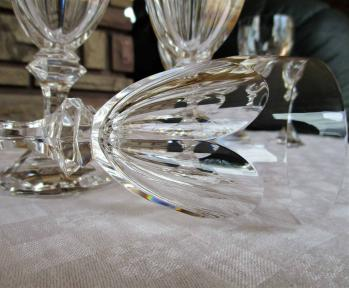 Chambord service st louis crystal