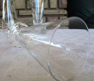 Champagne flute st louis