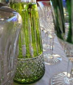 Chartreuse carafe tommy cristal