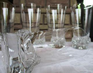 Chope verre biere cristal
