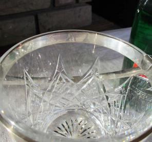 Colbert cristal baccarat seau