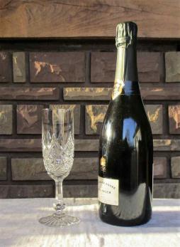 Colbert verre flute champagne baccarat cristal