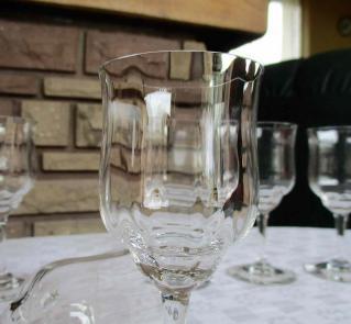 Cotes venitiennes baccarat cristal