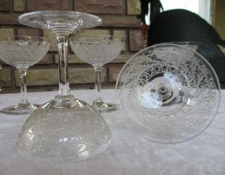 Coupe champagne baccarat cristal