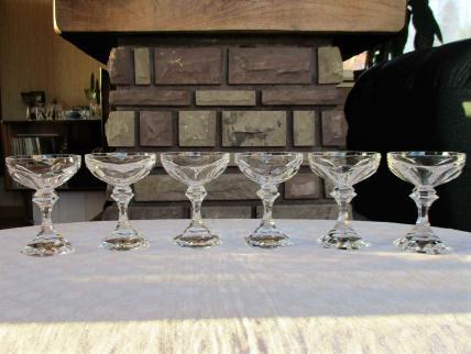 Coupe champagne chambord saint louis