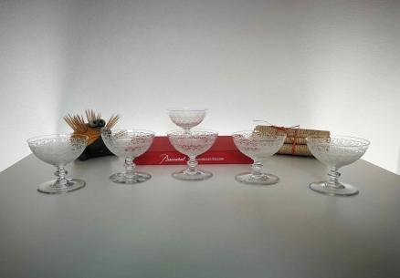 Coupe champagne rohan baccarat