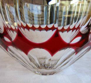 Coupe saladier saint louis cristal