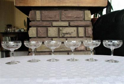 Coupe sevigne baccarat champagne