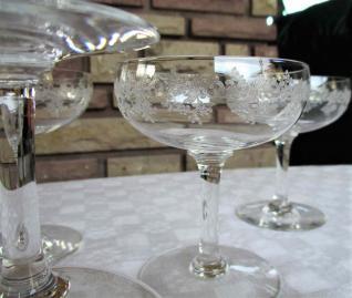 Coupes baccarat sevigne cristal