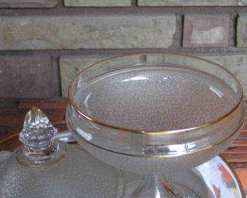 Cristal ancien st louis 1900 moire