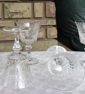 Cristal baccarat verres bologne