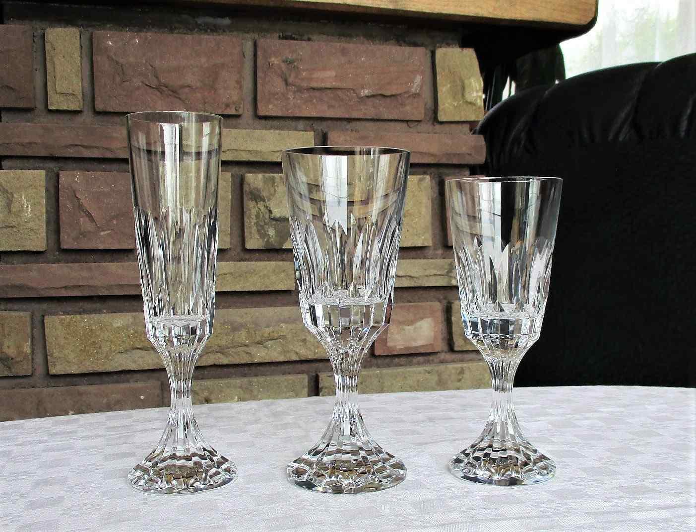 Service D'Assas en cristal de Baccarat