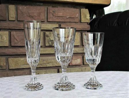 Cristal de baccarat verre d assas