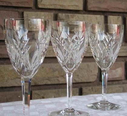 Cristal fort baccarat verre