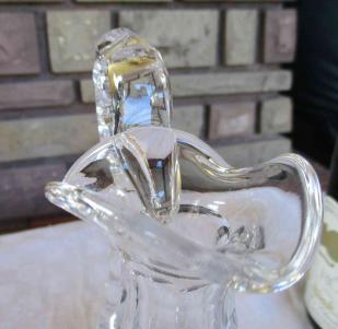 Cristal saint louis decanter carafe