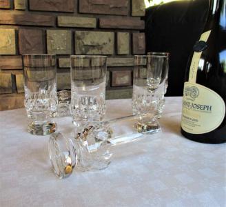 Cristal saint louis saturne verres