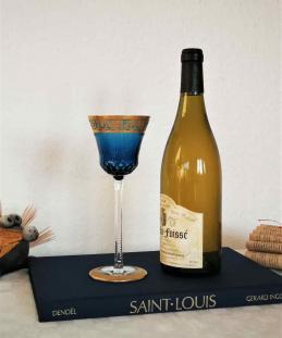 Cristal saint louis verre thistle