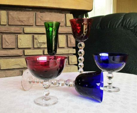 Cristal saint louis verres bubbles