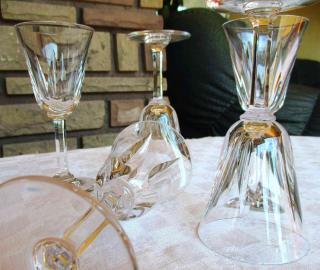 Cristal st louis cerdagne verres