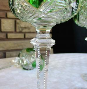Cristal taille ancien baccarat