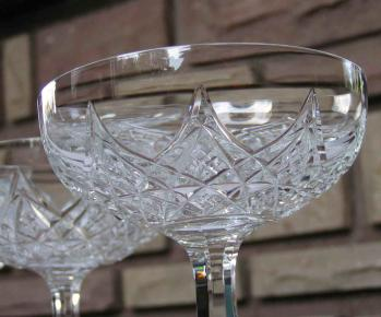 Cristal taille baccarat colbert