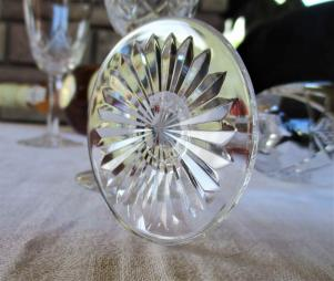 Cristal taille baccarat non signe